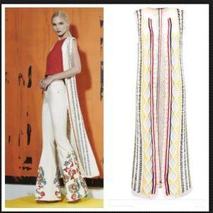 Alice + Olivia Knit Rudy Maxi Vest